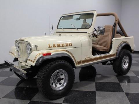 1985 Jeep CJ 7 Laredo na prodej