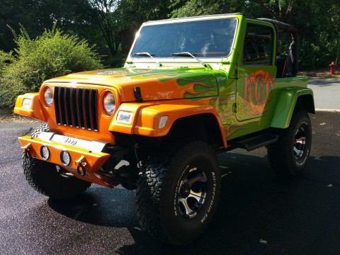 1998 Jeep Wrangler Custom Wrangler Sport na prodej