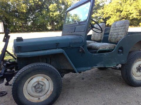1950 Jeep Willys CJ3A na prodej