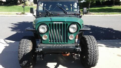 1991 Jeep Wrangler YJ na prodej