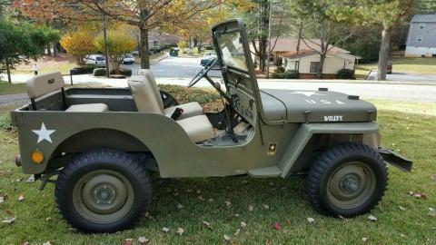 1949 Jeep MILITARY na prodej