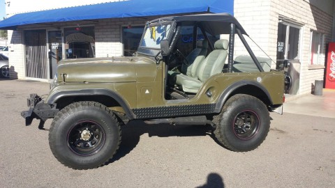 1968 Jeep CJ na prodej