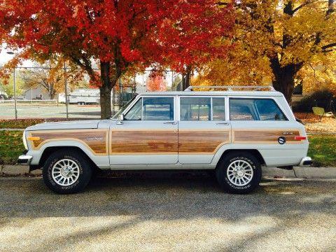1989 Jeep Wagoneer Sport Utility 4-Door 5.9L na prodej