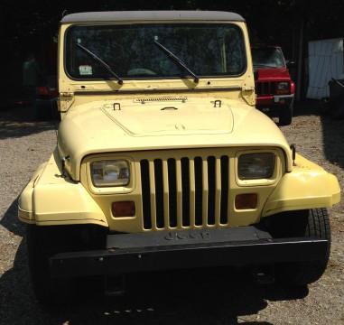 1989 Jeep Wrangler Special Edition Islander na prodej