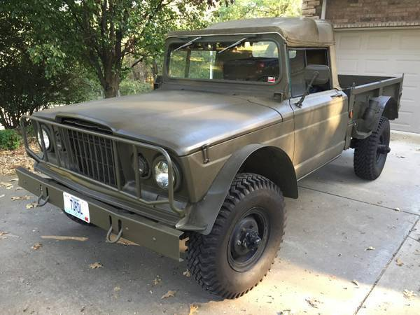 Kaiser Jeep M Military Na Prodej on 1967 Kaiser Jeep M715 Parts