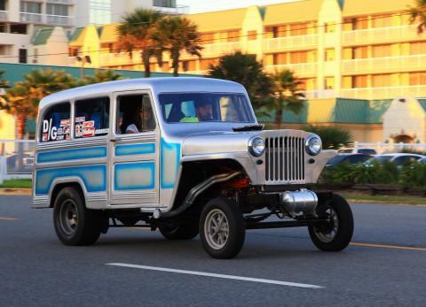 1962 Jeep Willys -Gasser na prodej