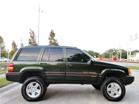 1995 Jeep Cherokee Grand ORVIS LIMITED EDITION 4X4 na prodej