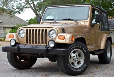 1999 Jeep Wrangler Sahara na prodej