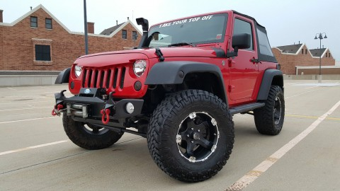 2009 Jeep Wrangler OFFROAD READY 2-Door 3,8 l na prodej