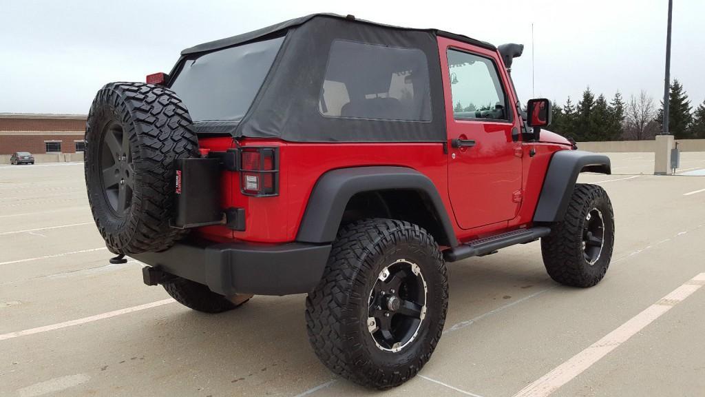2009 jeep wrangler offroad ready 2 door 3 8 l na prodej. Black Bedroom Furniture Sets. Home Design Ideas