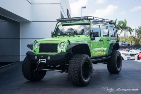 2014 Jeep Wrangler SEMA Show Car na prodej