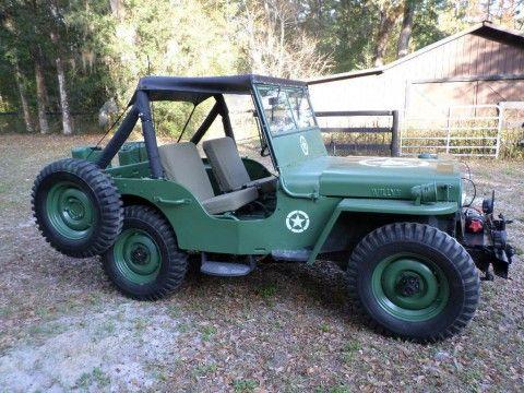 1945 Jeep Willys CJ2A na prodej