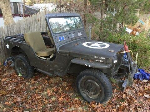 1947 Jeep Willys na prodej