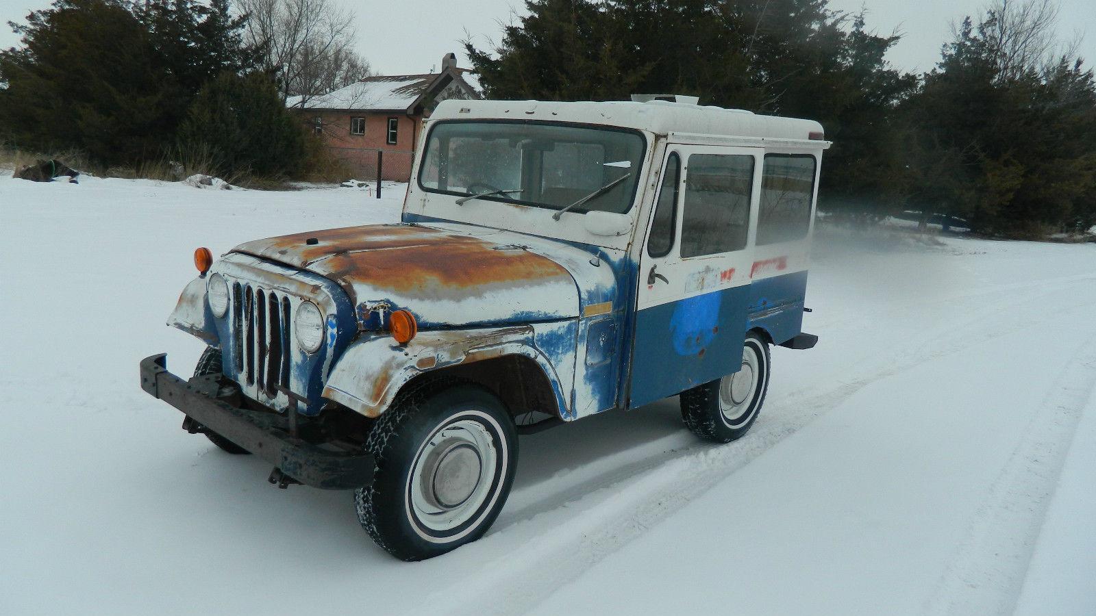 1972 jeep postal dj5 na prodej