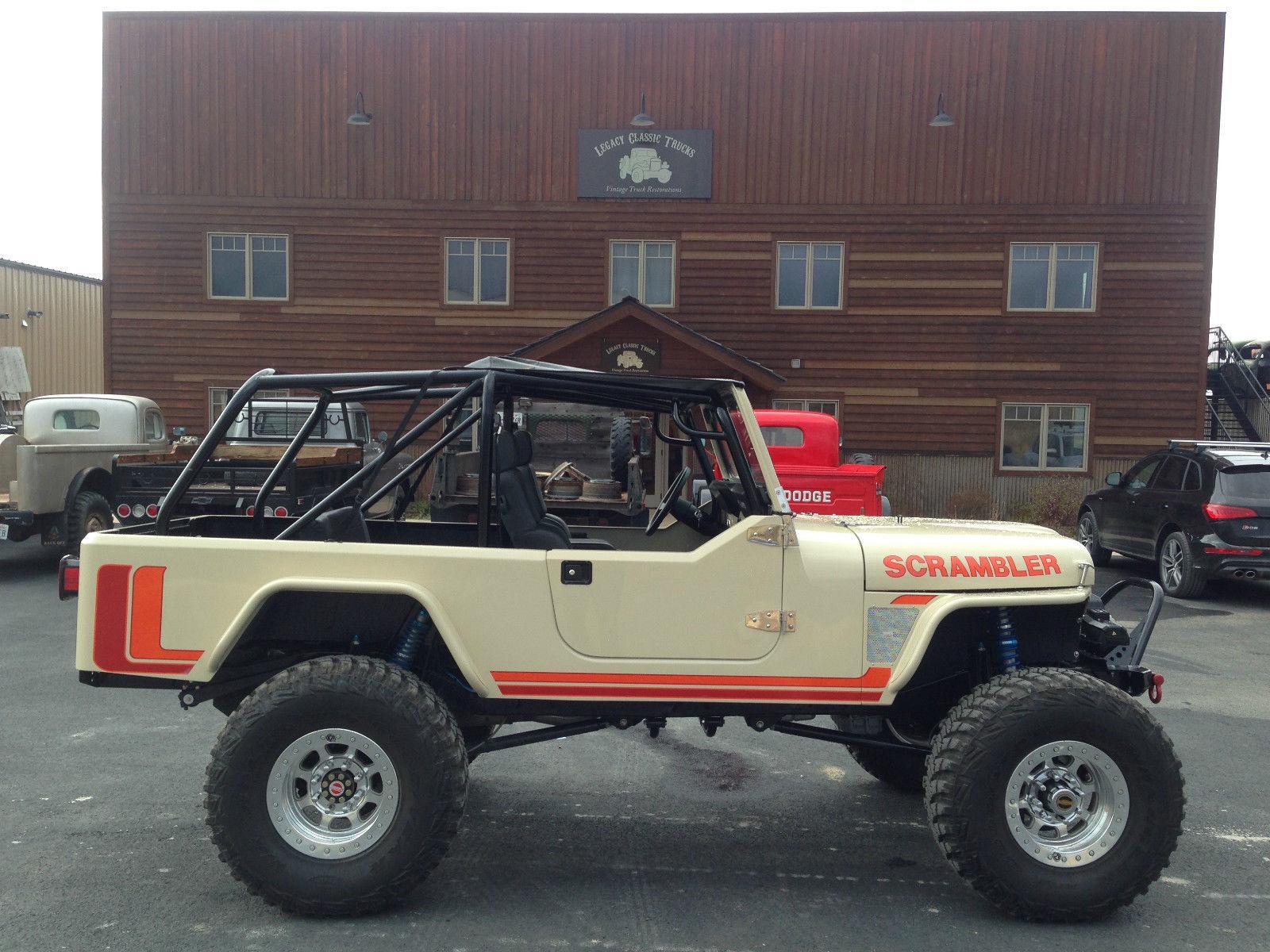 1974 jeep cj scrambler turbo diesel na prodej. Black Bedroom Furniture Sets. Home Design Ideas