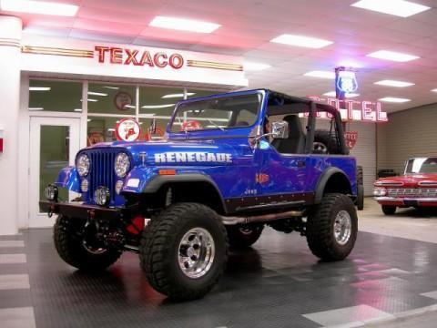 1986 Jeep CJ7 na prodej