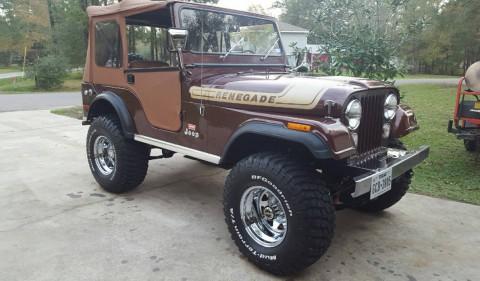 1976 Jeep CJ5 Renegade Levi Edition na prodej
