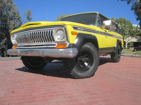 1977 Jeep Cherokee CHEIF na prodej