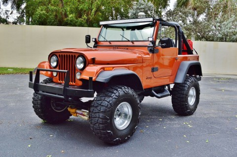 1979 Jeep CJ-7 Restored na prodej