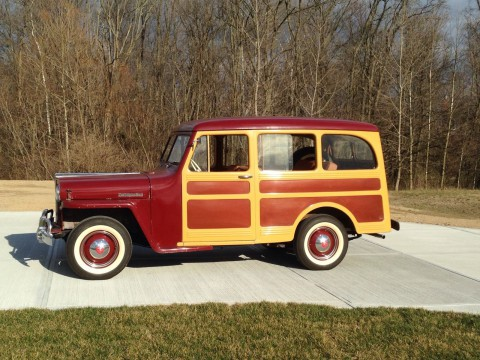 1947 Jeep Willys Overland 463 L-134 Woody na prodej