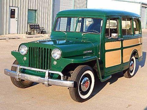 1949 Willys Overland Station Wagon na prodej