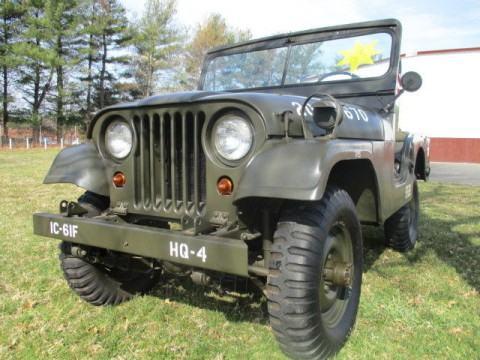 1953 Jeep Willys M38A-1 na prodej