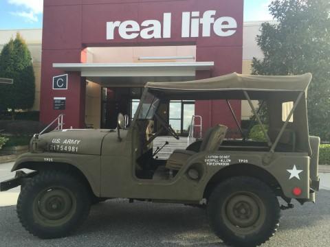 1953 M38A1 4×4 Authentic Korean War Army Jeep na prodej