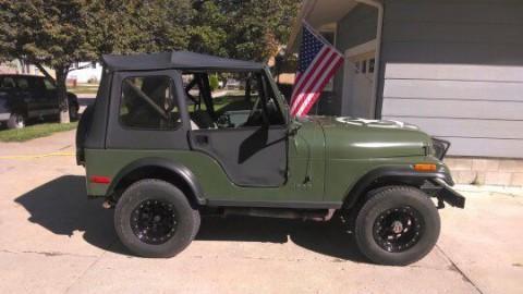 1979 Jeep CJ5 na prodej
