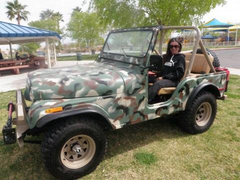 1980 Jeep CJ5 na prodej