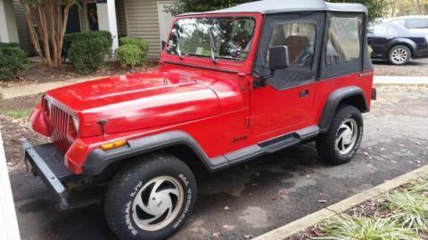 1989 Jeep Wrangler Sport 4,2 l na prodej