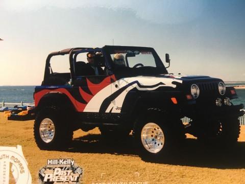 1999 Jeep Wrangler Denver Broncos na prodej