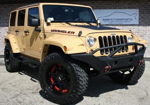 2013 Jeep Wrangler Sahara Lift na prodej