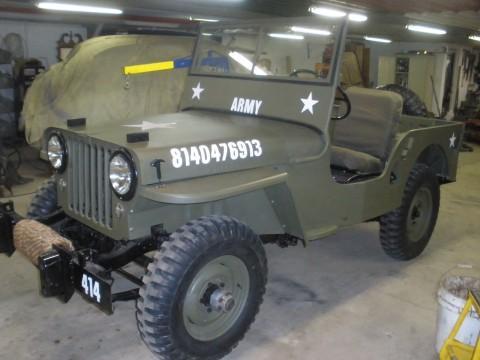 1946 Jeep CJ Military style CJ2A na prodej