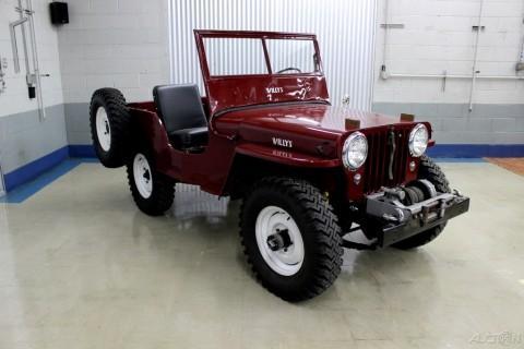 1948 Willys CJ-2A Overland na prodej