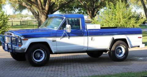 1979 Jeep J10 Base Standard Cab Pickup 2-Door 5.9L na prodej