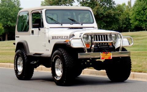 1990 Jeep Wrangler YJ na prodej