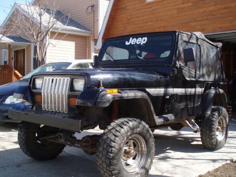 1992 Jeep Wrangler VJ na prodej