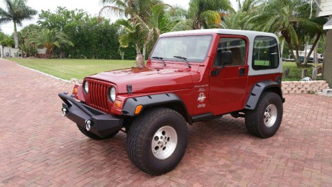 1998 Jeep Wrangler Sahara na prodej
