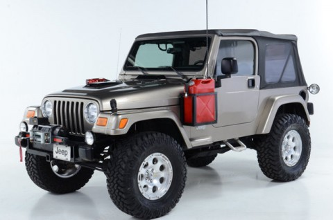 2003 Jeep Wrangler Sahara na prodej