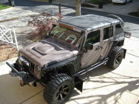 2016 Jeep Wrangler Rubicon 24R 4×4 Kevlar na prodej