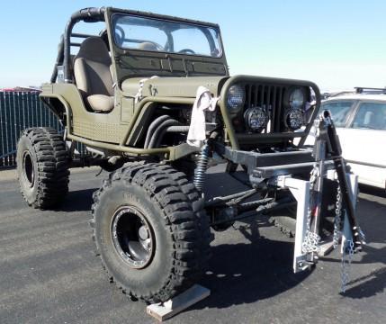 1946 Jeep CJ na prodej