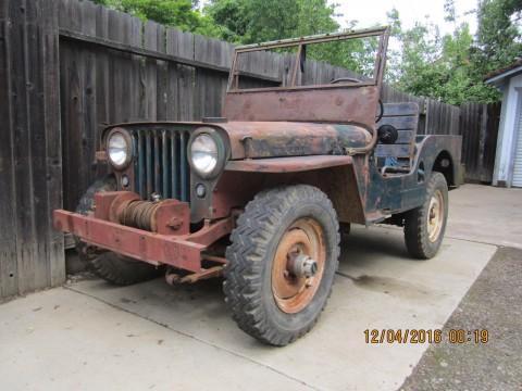 1946 Willys Jeep na prodej