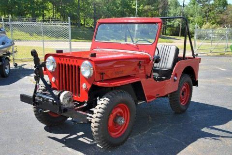 1954 Jeep CJ 3B na prodej
