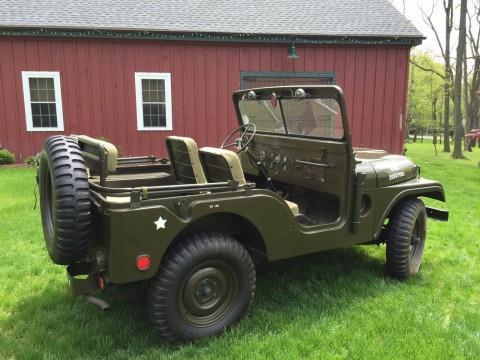 1954 Jeep Willys M38A1 na prodej