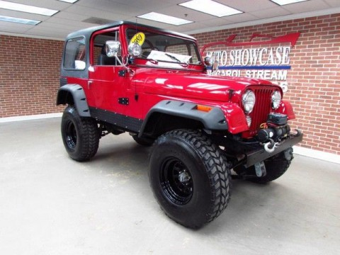 1980 Jeep Wrangler CJ7 na prodej