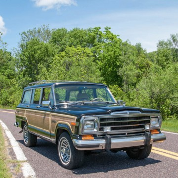 1991 Jeep Wagoneer Final Edition Model na prodej