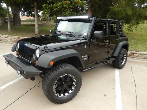 2013 Jeep Wrangler Unlimited Sport na prodej
