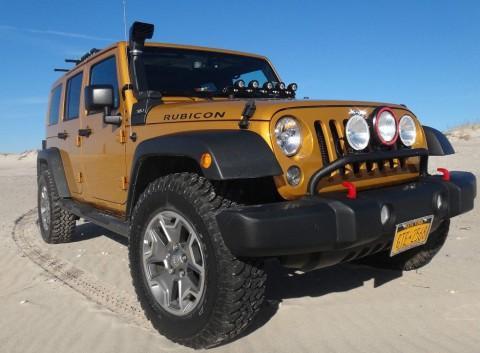 2014 Jeep Wrangler Unlimited RUBICON 4X4 na prodej