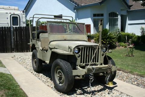 1942 Willys Jeep MB na prodej