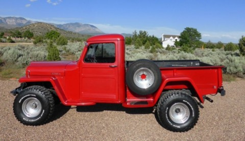 1954 Jeep Willys Pickup na prodej